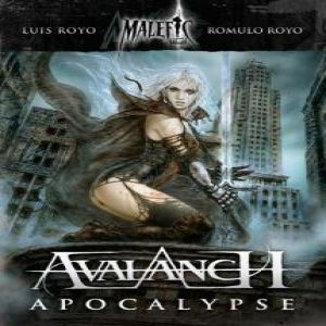 Avalanch - Malefic Time Apocalypse cover art