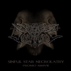 Hideous Divinity - Sinful Star Necrolatry cover art