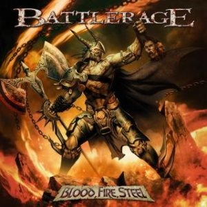 Battlerage - Blood, Fire, Steel cover art