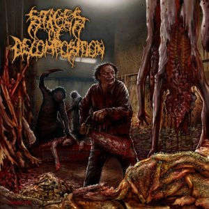 Stages of Decomposition - Piles of Rotting Flesh cover art