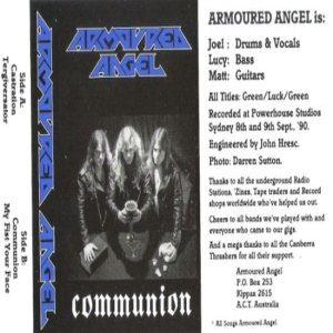 Armoured Angel - Communion cover art