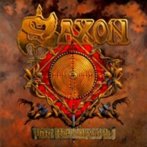 Saxon - Into the Labyrinth cover art
