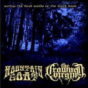 Mountain Goat / The Crowned Virgin - Within the Dead Woods of the Black Doom cover art