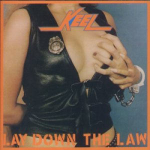 Keel - Lay Down the Law cover art