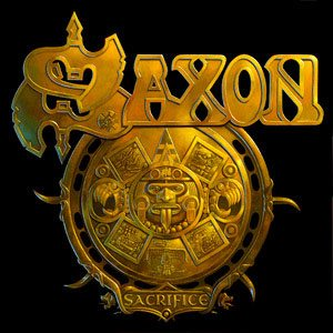 Saxon - Sacrifice cover art
