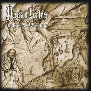 Pagan Rites - Hellcome Back to Earth cover art