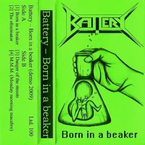 Battery - Born in a Beaker cover art