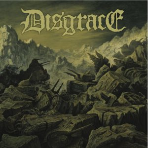 Disgrace - Disgrace / Harness cover art