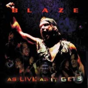 Blaze - As Live As It Gets cover art