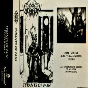 Last Sacrament - Tyrants of Pain cover art