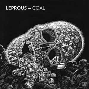 Leprous - Coal cover art