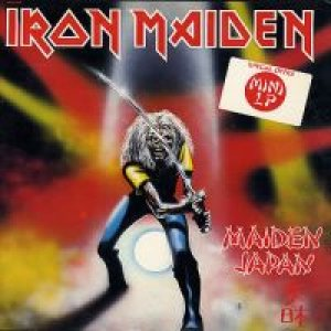 Iron Maiden - Maiden Japan cover art