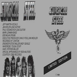Surgical Steel - Surgical Steel cover art