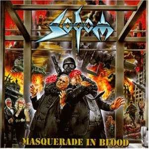 Sodom - Masquerade in Blood cover art