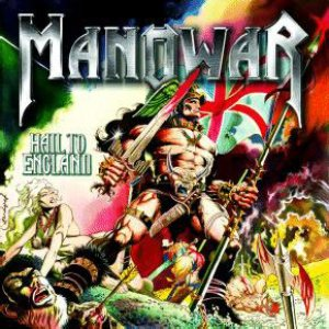 Manowar - Hail to England cover art