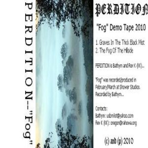 Perdition - Fog cover art