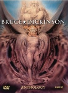 Bruce Dickinson - Anthology cover art