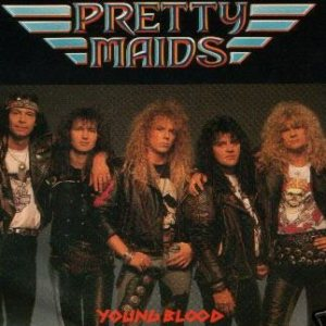 Pretty Maids - Young Blood cover art