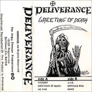 Deliverance - Greeting of Death cover art