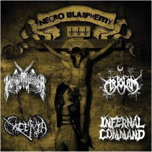 Master of Cruelty - Necro Blasphemy III cover art