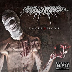 Shrill Whispers - Lacerations cover art