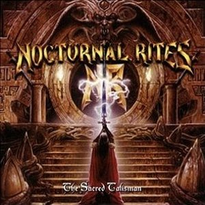 Nocturnal Rites - The Sacred Talisman cover art