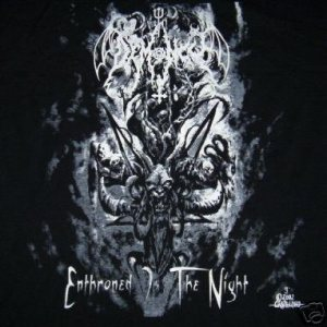 Demoncy - Enthroned Is the Night cover art