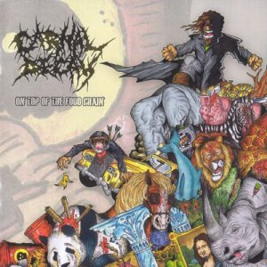 Carnal Decay - On Top of the Food Chain cover art