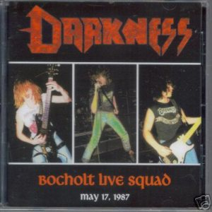 Darkness - Bocholt Live Squad cover art