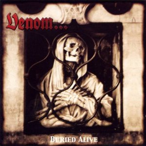 Venom - Buried Alive cover art