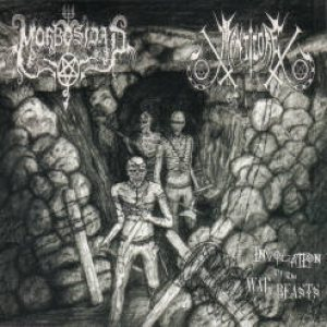 Morbosidad / Manticore - Invocation of the War Beasts cover art