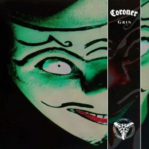 Coroner - Grin cover art