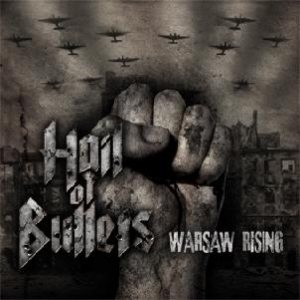 Hail of Bullets - Warsaw Rising cover art