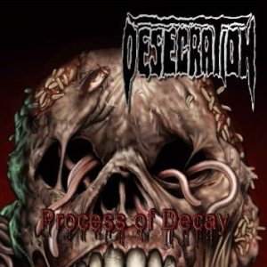 Desecration - Process of Decay cover art