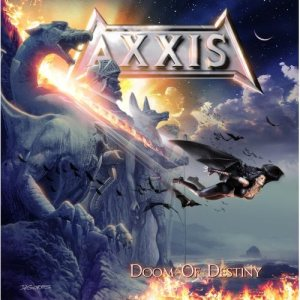 Axxis - Doom of Destiny cover art