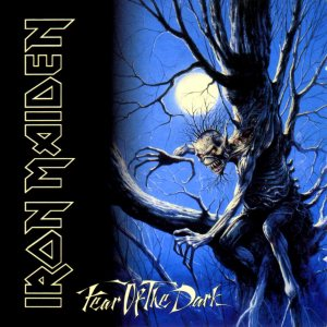 Iron Maiden - Fear of the Dark cover art