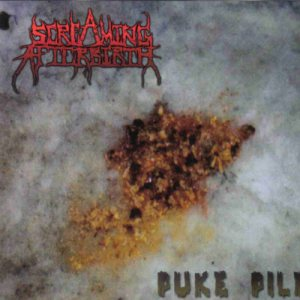 Screaming Afterbirth - Puke Pile cover art