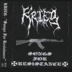 Krieg - Songs for Resistance cover art