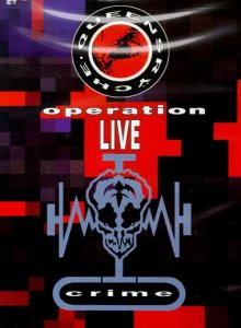 Queensryche - Operation LIVEcrime cover art