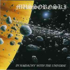 Mussorgski - In Harmony with the Universe cover art