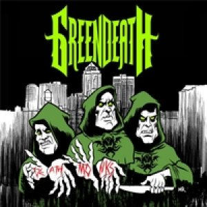 Green Death - Death Monks cover art