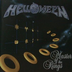 Helloween - Master of the Rings cover art