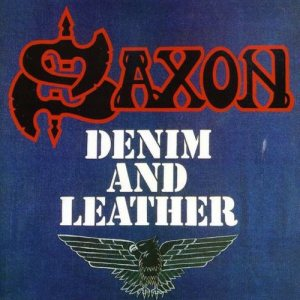 Saxon - Denim and Leather cover art