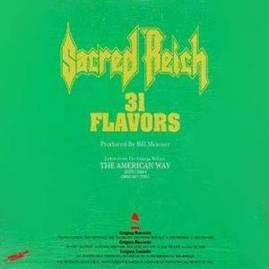 Sacred Reich - 31 Flavors cover art