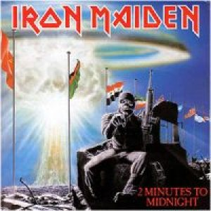 Iron Maiden - 2 Minutes to Midnight cover art