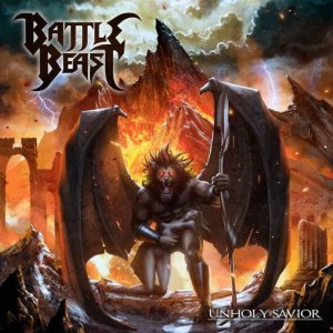 Battle Beast - Unholy Savior cover art