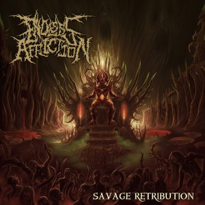 Endless Affliction - Savage Retribution cover art