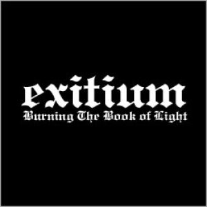 Exitium - Burning the Book of Light cover art