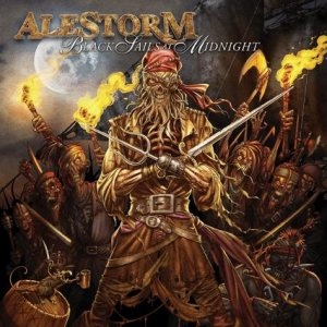 Alestorm - Black Sails At Midnight cover art
