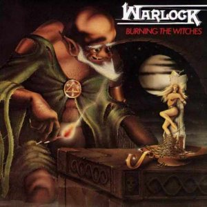 Warlock - Burning the Witches cover art